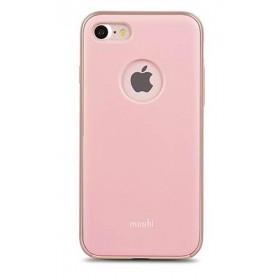 Case MOSHI iGlaze iPhone 7 Rosado