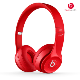 Audífonos BEATS On Ear Solo 2 Rojo