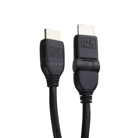 Cable ONE FOR ALL HDMI/HDMI 180° 3M