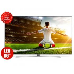 """TV 86"""" 217cm LG LED 86SJ957T UHD Internet"""