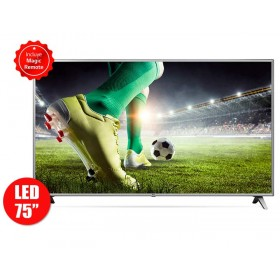 "TV 75"" 189cm LG LED 75UK6570 4K UHD Internet"