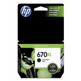 Cartucho HP 670XL Negro