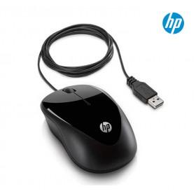 Mouse HP USB Alámbrico X1000 Negro