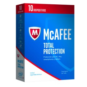 Antivirus McAFEE 2017 Total Protection 10 Dispositivo
