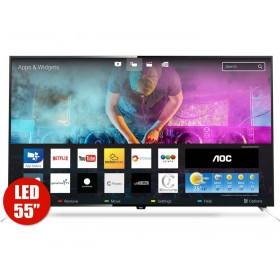 """TV 55"""" 139cm AOC LE55U7970i UHD Internet"""