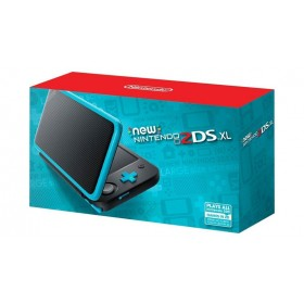 NEW NINTENDO 2DS XL Negra + Turquesa-4