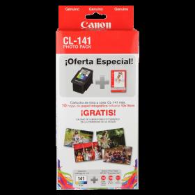 Tinta CANON Cl-141 + Papel