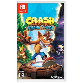 Videojuego SWITCH Crash Bandicoot N Sane Trilogy