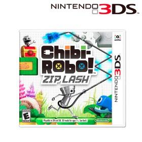 Videojuego Chibi Robo! Zip Lash