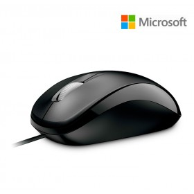 Mouse Alámbrico MICROSOFT Optical 500 Negro