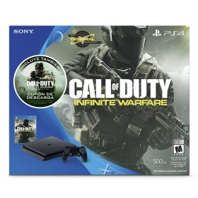 Consola PS4 Slim 500GB edición COD Infinite Warfare