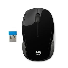 Mouse HP Inalámbrico Optico 200 Negro