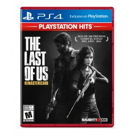 Juego PS4 The Last Of US Remastered Hits