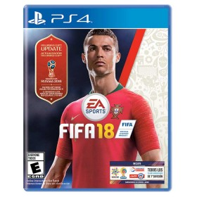 Videojuego PS4 FIFA 18 World Cup