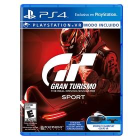 Videojuego PS4 Gran Turismo Sport