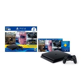 Consola PS4 Slim Hits 5 1TB +1 Control Inalambrico + 3 Juegos ( Days Gone , Detroit , Raimbow Six )