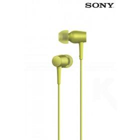 Audífonos SONY internos MDR-EX750AP Amarillo compatibles con audio de alta resolución