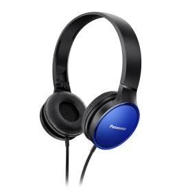 Audifonos Panasonic Alambricos OnEar HF300 Azul