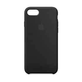 Case iPhone 8/7 Silicone Negro