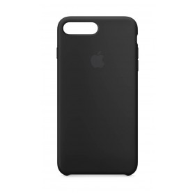 Case iPhone 8/7 Plus Silicone Negro