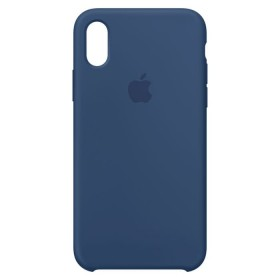 Iphone Case X Silicone Azul