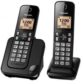 Teléfono Inalámbrico Dect Panasonic ID TGC352 Negro