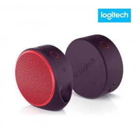 Parlante Bluetooth LOGITECH X100 3.5 USB 3W Rojo