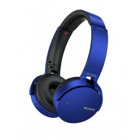 Audífonos SONY OnEar Bluetooth XB650 Azul