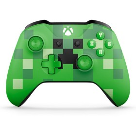 Control XBOX ONE Minecraft Creep Verde