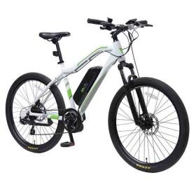 Bicicleta E-city MTB 250W Blanca