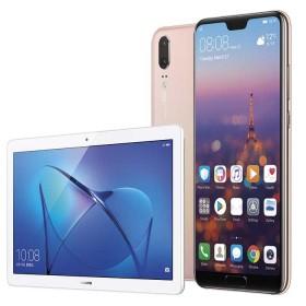 """Kit HUAWEI Celular Libre P20 Dorado DS 4G + Tablet 10"""" + Manos Libres Bluetooth"""