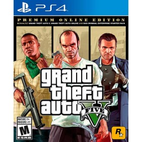 Juego PS4 Grand Theft Auto V PE