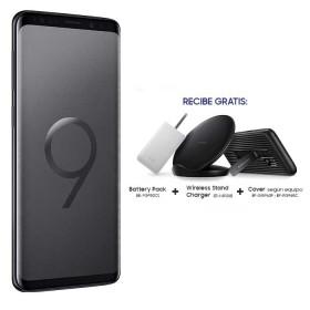 Celular Libre SAMSUNG S9 Negro DS 4G con Accesorios