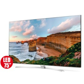 """Tv 75"""" 189cm LG LED 75SJ955T UHD Internet"""