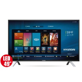 "Tv 49"" 124cm HYUNDAI 498 Ultra HD - Internet"