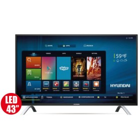 "Tv 43"" 109cm HYUNDAI 438 Ultra HD - Internet"
