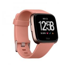 FITBIT Versa Smartwatch Peach-Rose Gold Aluminum