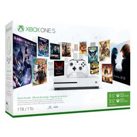 Consola XBOX ONE S 1 Tera + 1 Control + 3 Meses Gamepass + 3 Meses XBOX LIVE