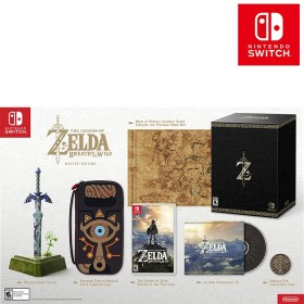 Videojuego Switch Legend of Zelda: Breath of the Wild Edición Master