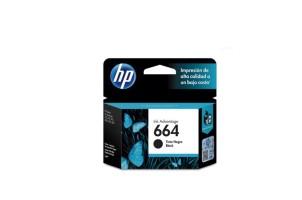 Cartucho de tinta HP 664 negra Original F6V29AL