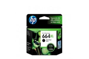 Cartucho de tinta HP 664XL negra Original F6V31AL