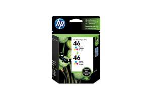 Dual Pack HP Cartucho 46 Color2