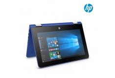 """Convertible 2 en 1 HP U001 11.6"""" Celeron Azul"""