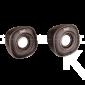 Parlantes KLIPXTREME Eklipse KES-215R USB Grises