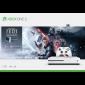 Consola XBOX ONE S 1TB + 1 Control + Juego Star Wars Jedi Fall Order +Juego digital de Halo 5 Gratis