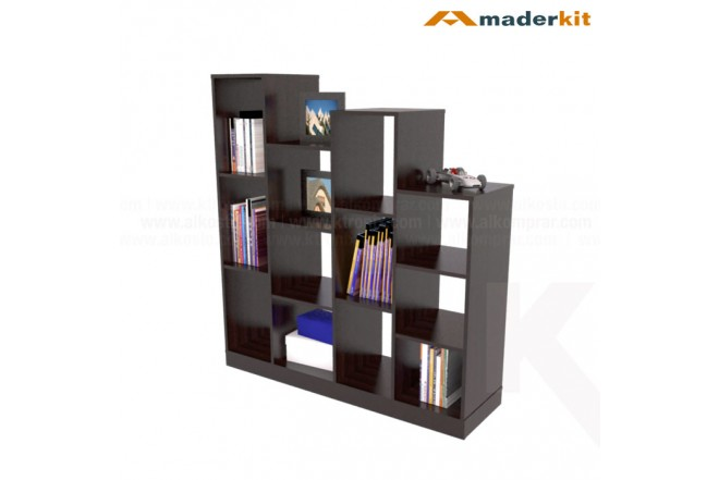 Biblioteca Escala MADERKIT Wengue