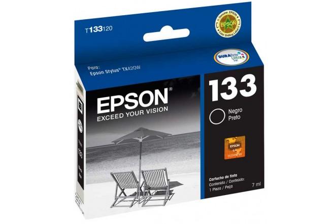 Cartucho EPSON T133120-AL TX420W Negro