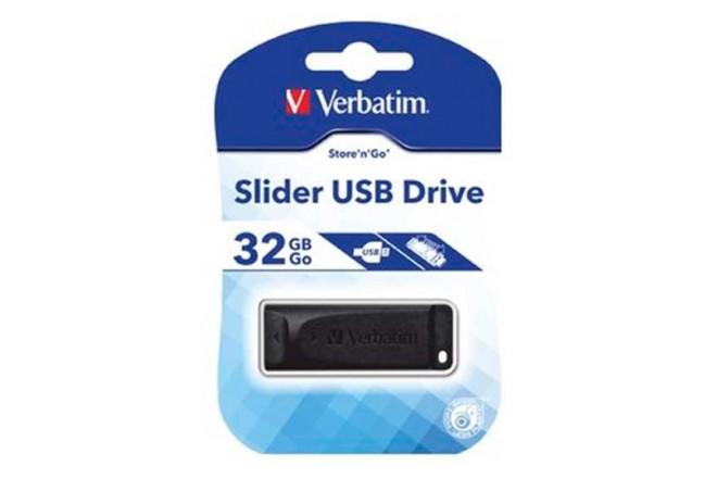 Memoria USB VERBATIM Slider 32GB