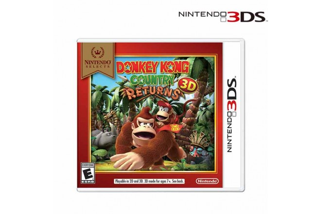 Videojuego NINTENDO 3DS Donkey Kong Country Returns Select
