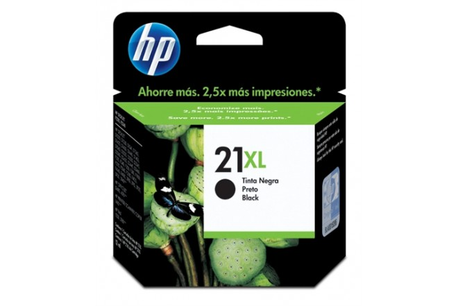 Cartucho HP 21XL Negro